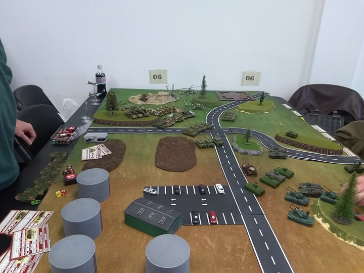 Flames of War Team Yankee open play, Guard Tower East. June 27.