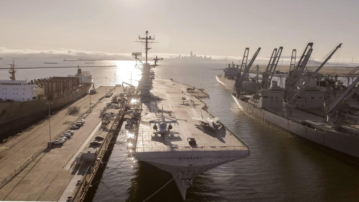 Flames of War on the USS Hornet