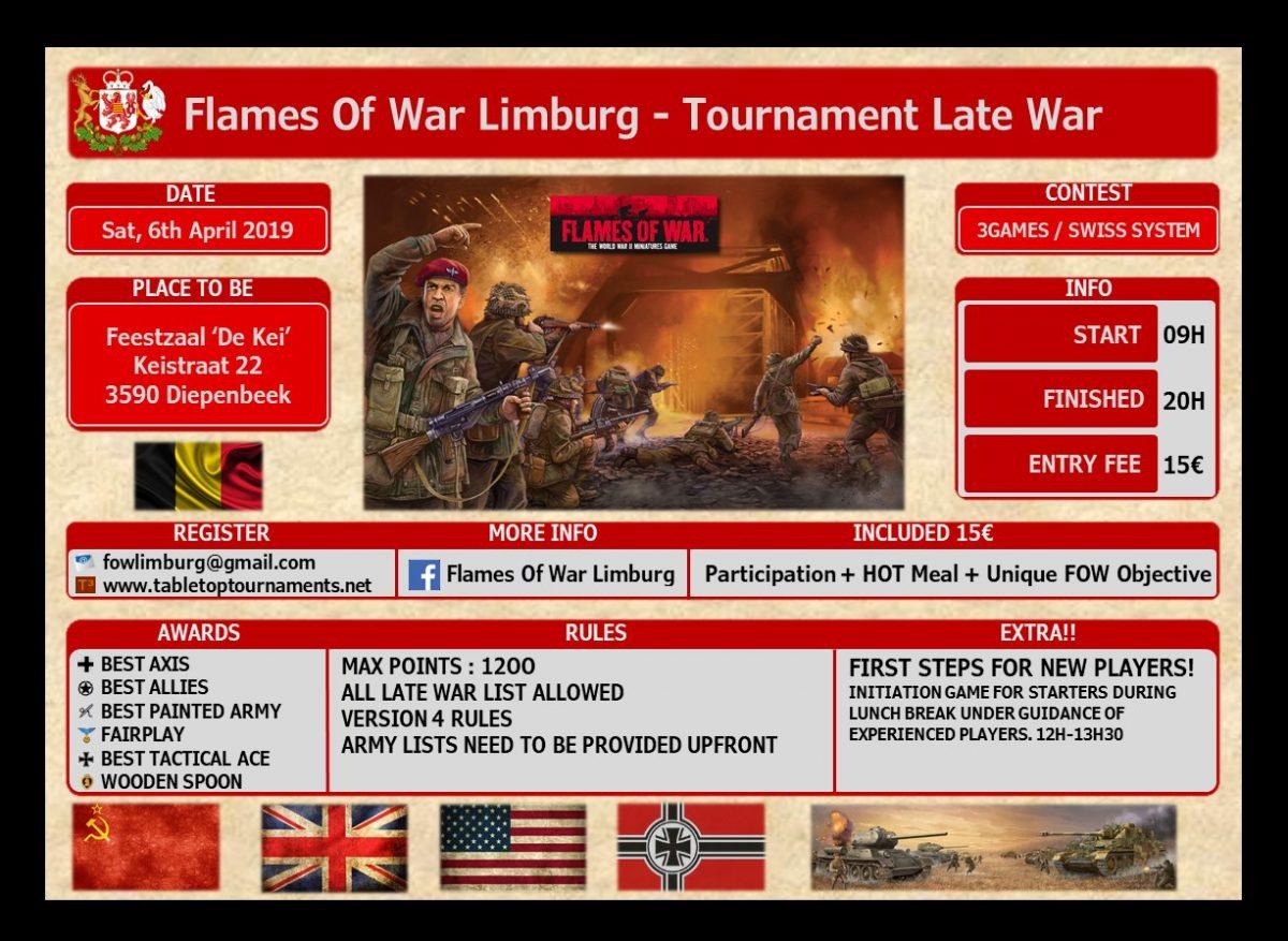 Flames of War Limburg Tournament Late War