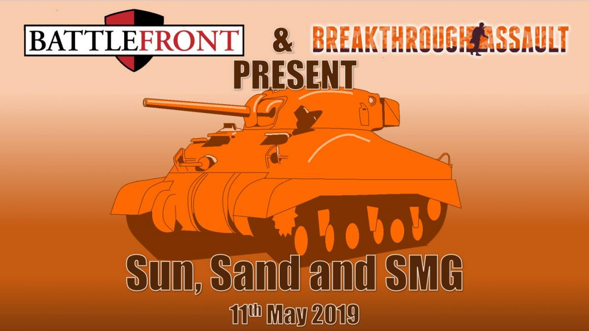SUN, SAND AND SMG!